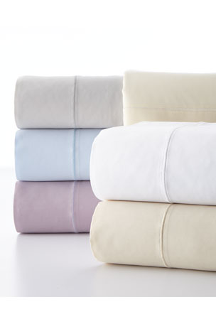Charisma Standard Classic Solid 310 Thread Count Pillowcases, Set of 2 King Classic Solid 310 Thread Count Sheet Set Full Classic Solid 310 Thread Count Sheet Set