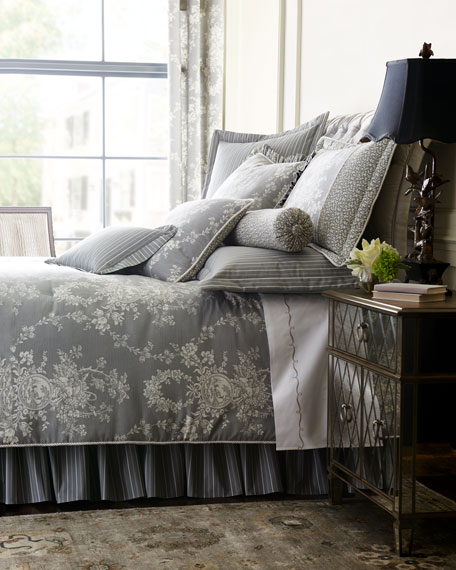 Metropolitan Toile 3-Piece King Comforter Set