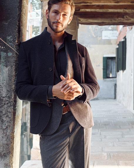 Cashmere Single-Breasted Jacket