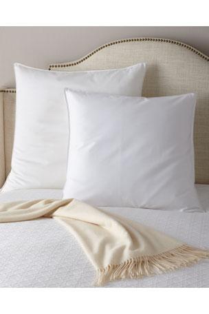 """The Pillow Bar European Down Pillow, 26""""Sq. European Super-Size Down Pillow, 30""""Sq."""
