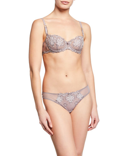 Champs Elysees Lace Demi Bra and Matching Items