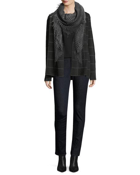Eileen Fisher Plus Size Silk Jersey Long Slim Camisole