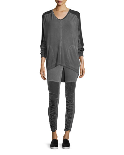 Kata Velvet Leggings  Plus Size  and Matching Items