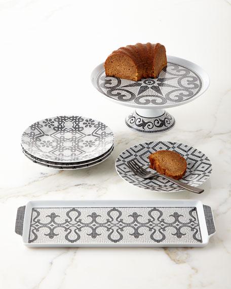 Calcada Portuguese Dessert Plates, Set of 4