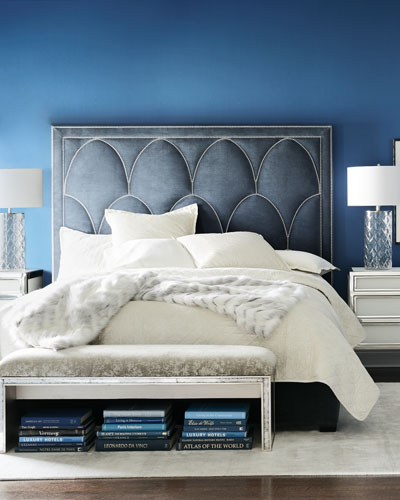 Arista Upholstered Bed