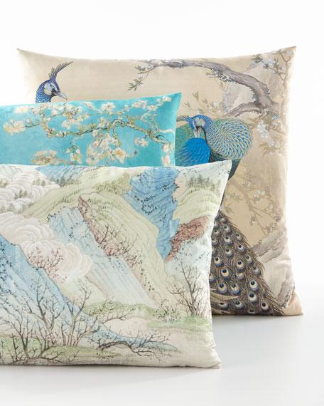 Poetic Pillow Keinen Peacock Pillow