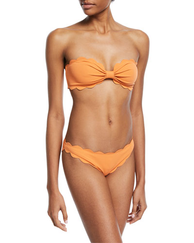 Antibes Scalloped Swim Bottom and Matching Items