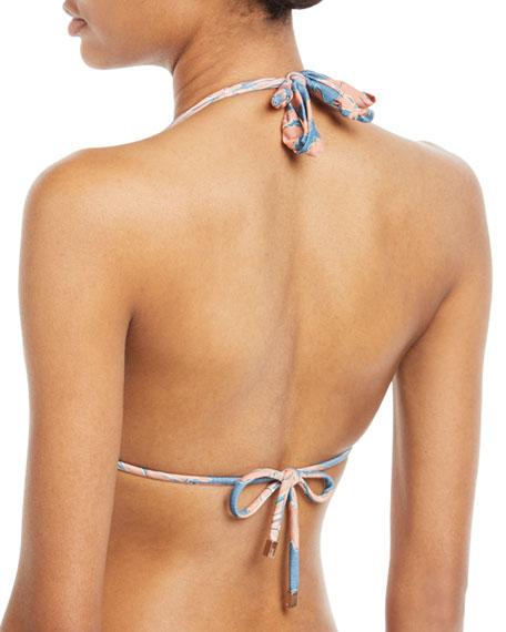 Margarita Bia Tube Floral-Print Full Swim Bikini Bottoms