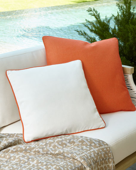 Winterthur Pillow, Orange