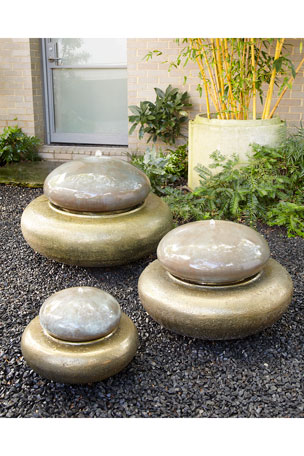 The Phillips Collection Heian Medium Fountain Heian Small Fountain