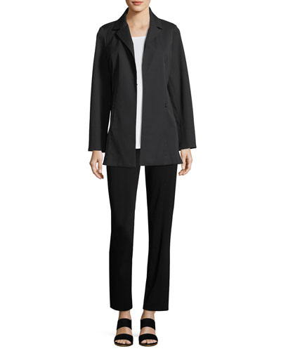 Straight-Leg High-Rise Pants and Matching Items