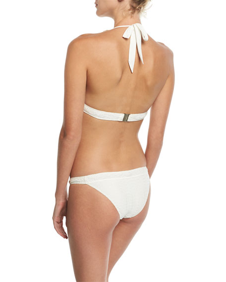Knit Hipster Swim Bikini Bottom
