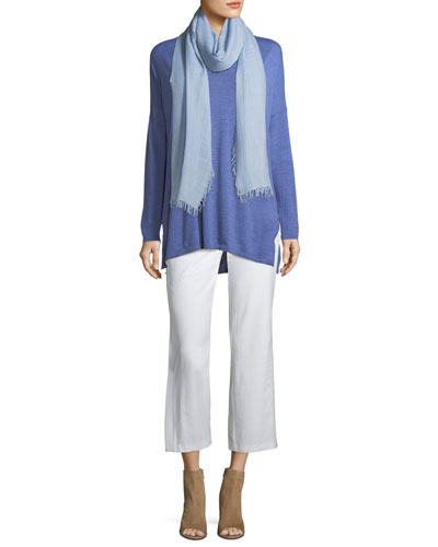 Wool-Silk Ombre Scarf and Matching Items