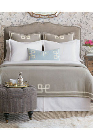 Eastern Accents Resort Fret Oversized King Duvet Resort Fret Oversized Queen Duvet
