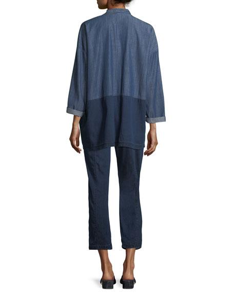 Tencel® Organic Cotton Denim Kimono Jacket