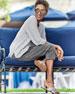 Eileen Fisher Linen-Blend Slub Top
