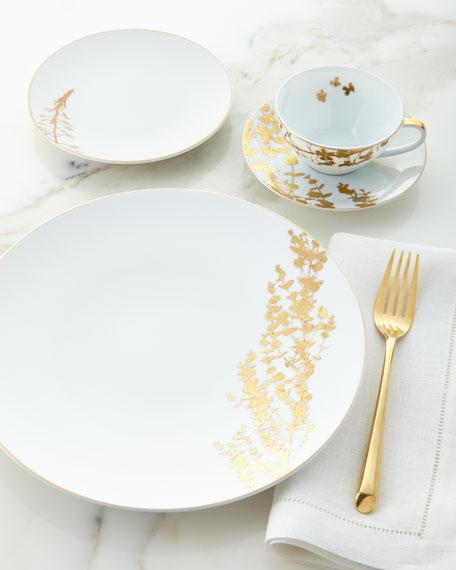 Bernardaud Vegetal Gold Bread & Butter Plate