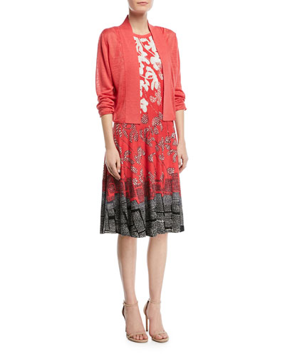 Terrace Twirl Sleeveless A-Line Dress, Petite and Matching Items