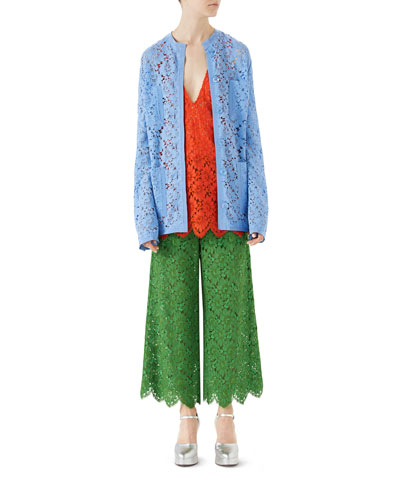 Flower Lace Jacket and Matching Items
