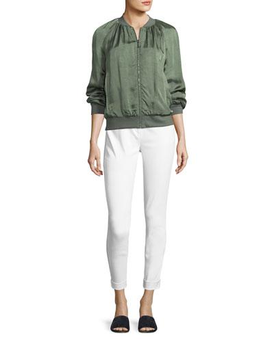 5-Pocket Slim Capri Bardot Jeans  and Matching Items