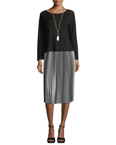 Seamless Sleek Bell-Sleeve Top and Matching Items