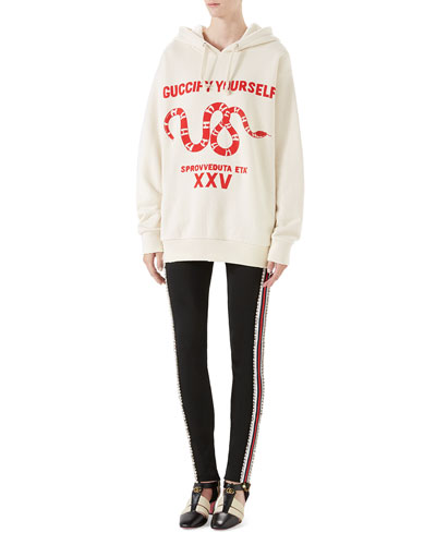 Guccify Yourself Printed Sweatshirt and Matching Items
