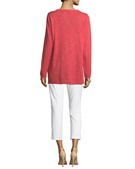 Easy Long-Sleeve Pullover Tunic, Plus Size