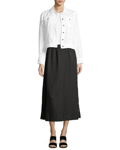 Tencel® Linen Midi Skirt and Matching Items