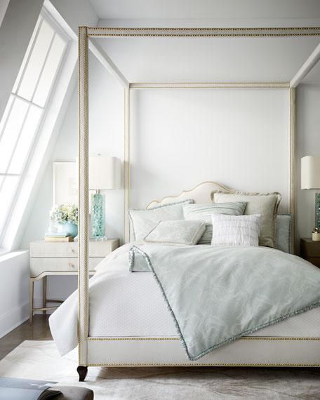 Dian Austin Couture Home Quartzite Fancy Fringe Pillow
