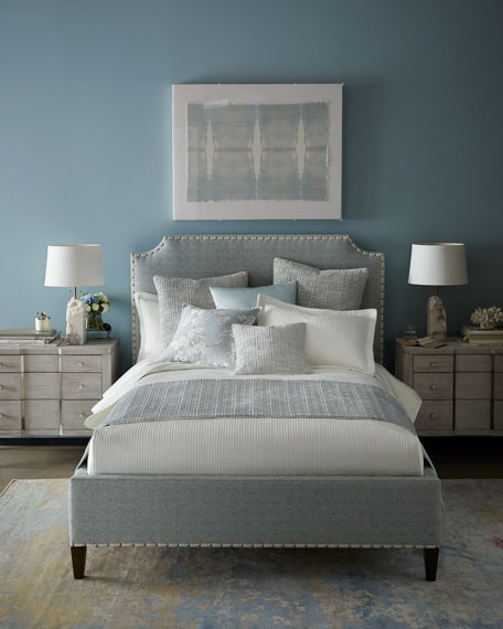 Isabella Collection by Kathy Fielder Lyssa Queen Channel Coverlet Set