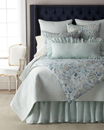 Savannah Ruffled Double Boudoir Pillow, 15