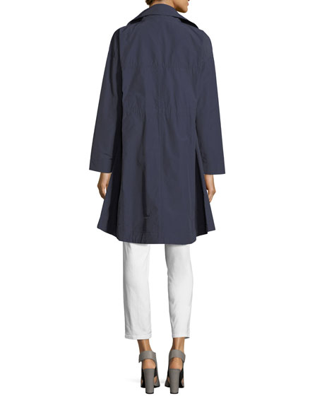 Weather-Resistant Long Jacket
