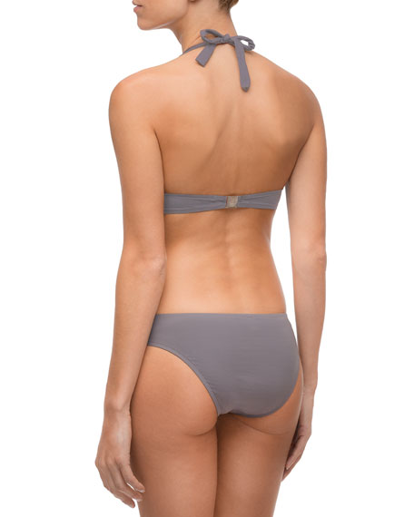 Lise Charmel Ajourage Couture Laser- Cut Triangle Solid Swim Top