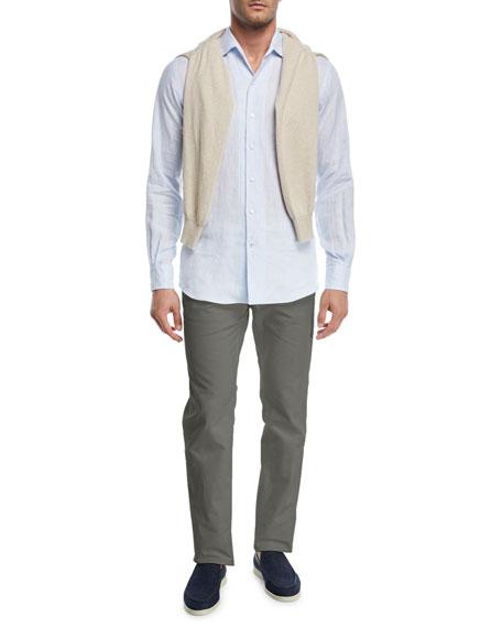 Andrew Long-Sleeve Linen Shirt