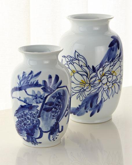 """Accent Ceramic Vase, 12"""" x 7"""""""