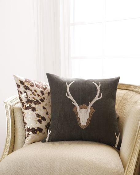 """D.V. Kap Home Uncle Buck Pillow, 24""""Sq."""