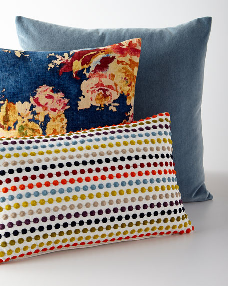 Blick Denim Pillow
