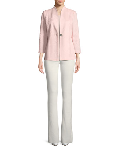 Boot-Cut Knit Pants  and Matching Items