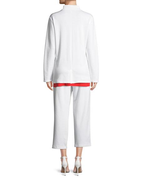 Tencel® Ponte Knit Easy Blazer
