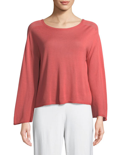 Seamless Sleek Bell-Sleeve Top and Matching Items