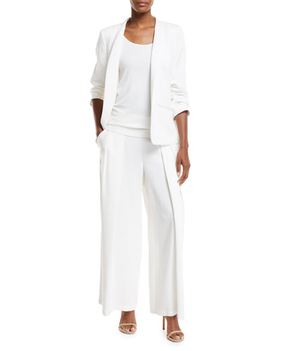 Corded Tencel® Simple Blazer  and Matching Items