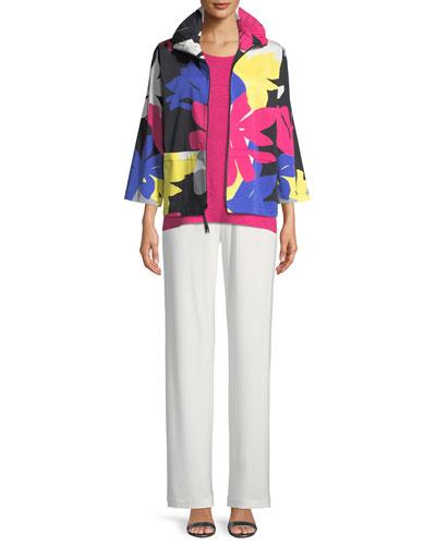 Petal Pusher Printed Jacket  and Matching Items