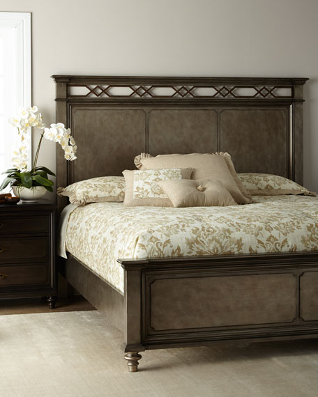 Haven Metal Accent King Bed