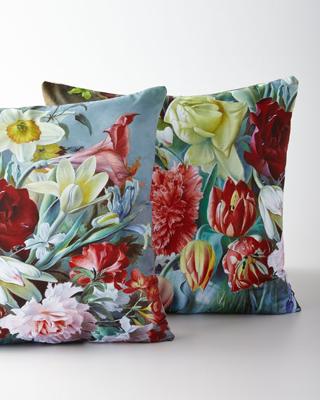 Regal Carnation Pillow