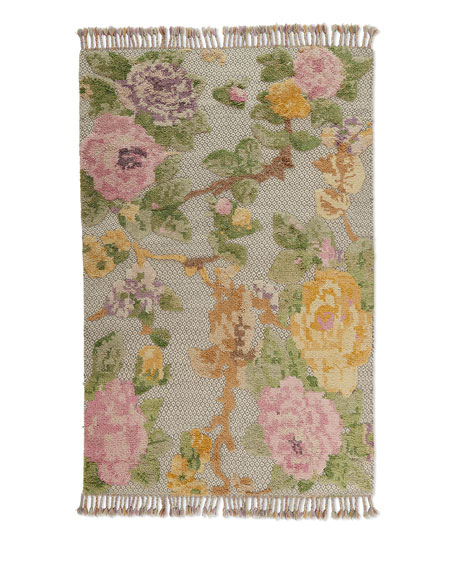 Ivey Hand-Knotted Rug, 9' x 12'