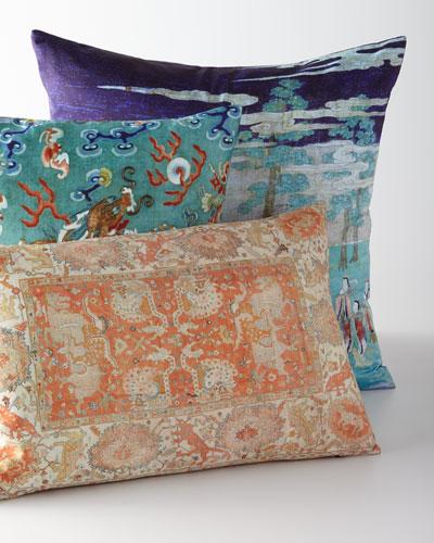 Designer Pillows : Fur & Velvet Pillows at Neiman Marcus