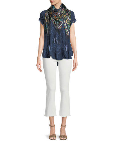 Melrose Scoop-Neck High-Low Top, Plus Size and Matching Items