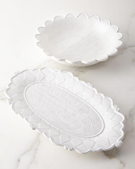 MacKenzie-Childs Sweetbriar Platter