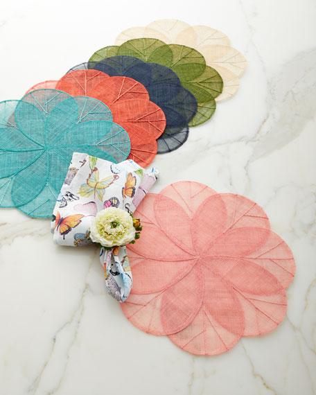 Deborah Rhodes Pastel Butterflies Napkin