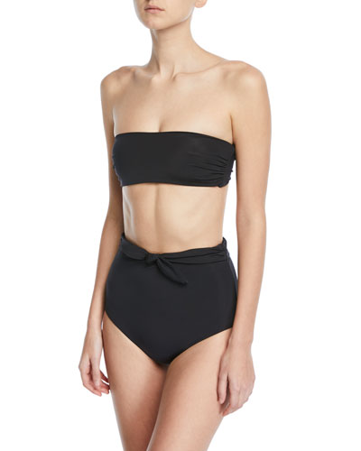 Abigail Bandeau Swim Top and Matching Items